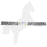 Krepppapier in Tierfell-Optik, Zebra
