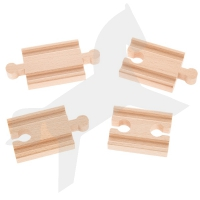 Holzschienen Set 1