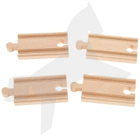 Holzschienen Set 2