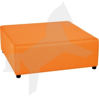 Modul Blocks mini - Sitz quadratisch 90x90, orange